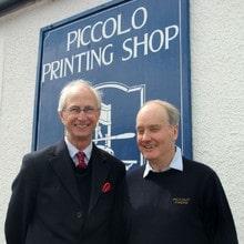 Chief Printing Executive visits Piccolo Press