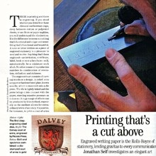 Country Life magazine highlights Piccolo Press