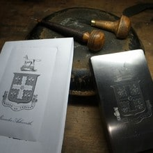 Visit to the Engraver's Workshop